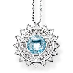 """necklace """"throat chakra"""" from the Chakras collection in the THOMAS SABO online store"""