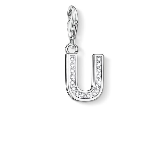 """ciondolo Charm """"lettera U"""" from the  collection in the THOMAS SABO online store"""