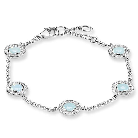 bracelet Light of Luna Light blue from the Glam & Soul collection in the THOMAS SABO online store