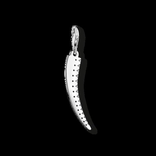 Charm-Anhänger silberner Zahn aus der Charm Club Kollektion im Online Shop von THOMAS SABO