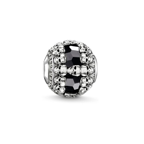 "Bead ""black skulls"" from the Karma Beads collection in the THOMAS SABO online store"