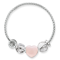 "bracelet ""cœur rose"" de la collection Karma Beads dans la boutique en ligne de THOMAS SABO"