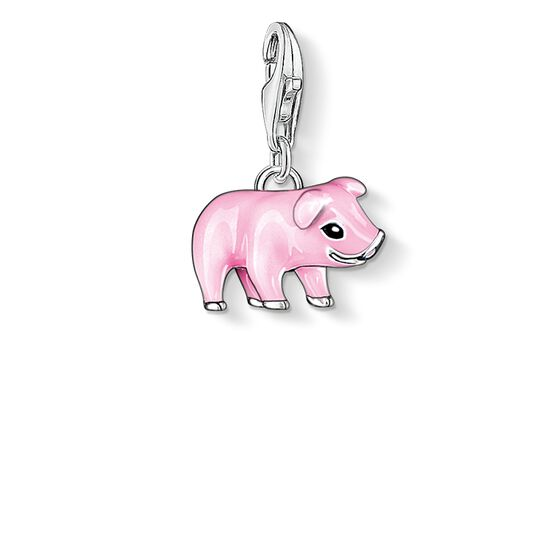 "Charm pendant ""pink piglet"" from the  collection in the THOMAS SABO online store"