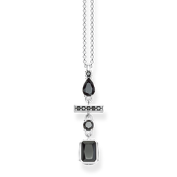 necklace Black mix of shapes from the Glam & Soul collection in the THOMAS SABO online store