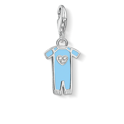 Charm pendant blue babygrow from the  collection in the THOMAS SABO online store