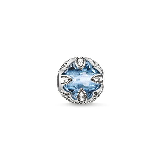 Bead lotus bleu de la collection Karma Beads dans la boutique en ligne de THOMAS SABO