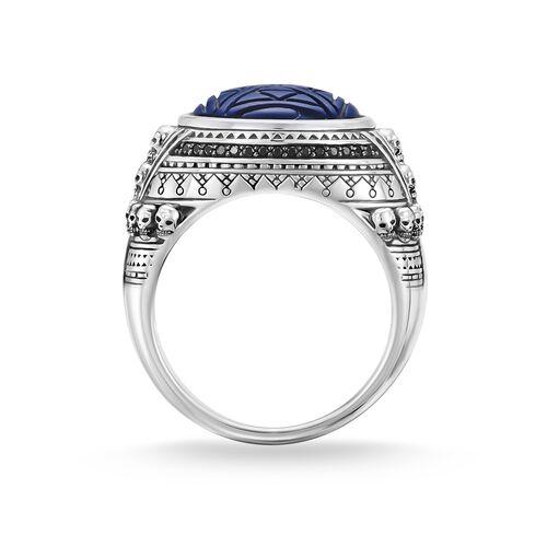 """anillo """"Calaveras étnicas azul"""" de la colección Rebel at heart en la tienda online de THOMAS SABO"""