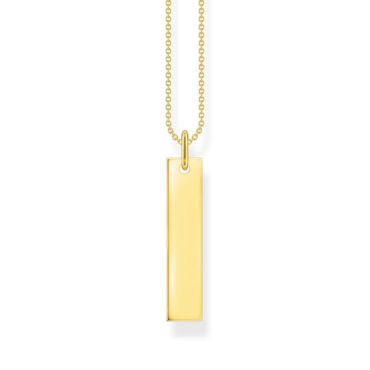 Necklace tag gold from the  collection in the THOMAS SABO online store