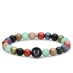 bracelet Multicoloured from the Rebel at heart collection in the THOMAS SABO online store