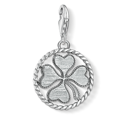 """Charm pendant """"disc cloverleaf"""" from the  collection in the THOMAS SABO online store"""