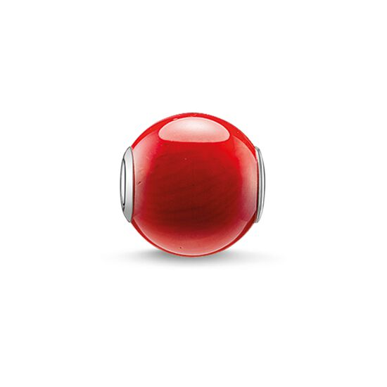 "Bead ""red"" from the Karma Beads collection in the THOMAS SABO online store"