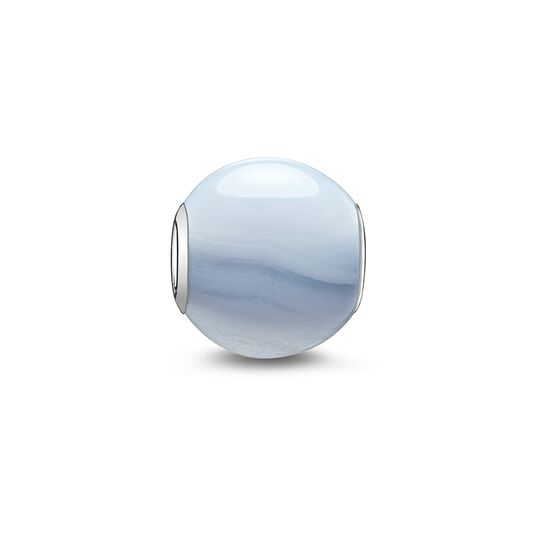 Bead calcédoine bleue de la collection Karma Beads dans la boutique en ligne de THOMAS SABO