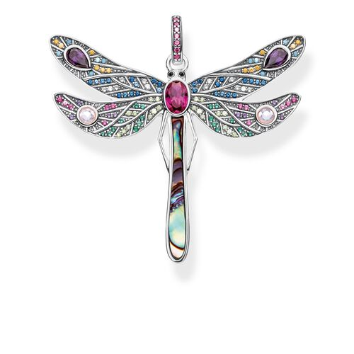 "pendant ""dragonfly"" from the Glam & Soul collection in the THOMAS SABO online store"