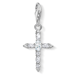 Charm pendant Iconic cross from the Charm Club Collection collection in the THOMAS SABO online store