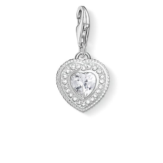 "Charm pendant ""Vintage heart "" from the  collection in the THOMAS SABO online store"