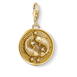 Charm pendant zodiac sign Pisces from the Charm Club Collection collection in the THOMAS SABO online store