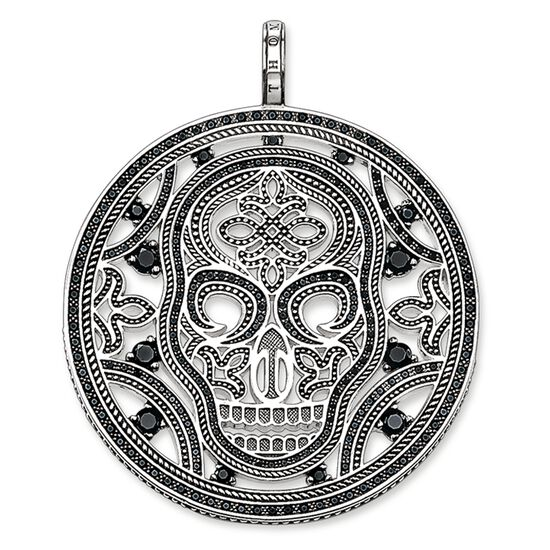 Pendant amulet skull pe666 men thomas sabo usa pendant from the rebel at heart collection in the thomas sabo online store mozeypictures Image collections