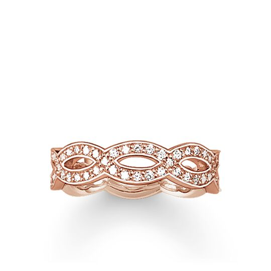 """anello eternity """"Love Knot"""" from the Glam & Soul collection in the THOMAS SABO online store"""