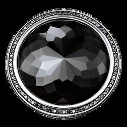 """bague cocktail """"lotus noir"""" de la collection Glam & Soul dans la boutique en ligne de THOMAS SABO"""