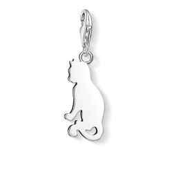 "Charm pendant ""cat"" from the  collection in the THOMAS SABO online store"
