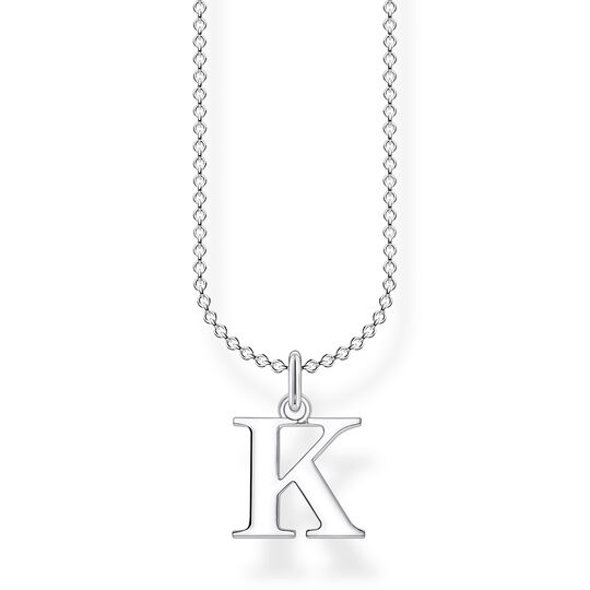 Necklace letter K from the Charming Collection collection in the THOMAS SABO online store