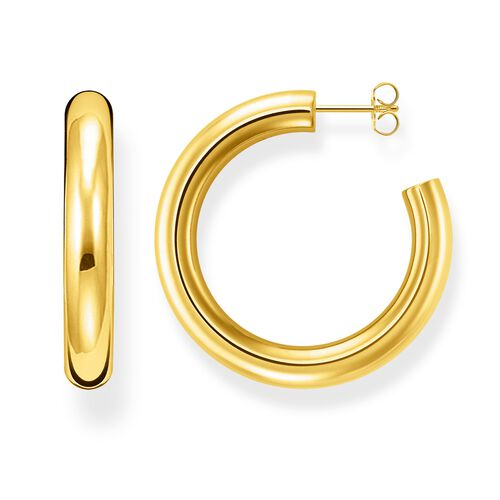 """hoop earrings """"classic large"""" from the Glam & Soul collection in the THOMAS SABO online store"""