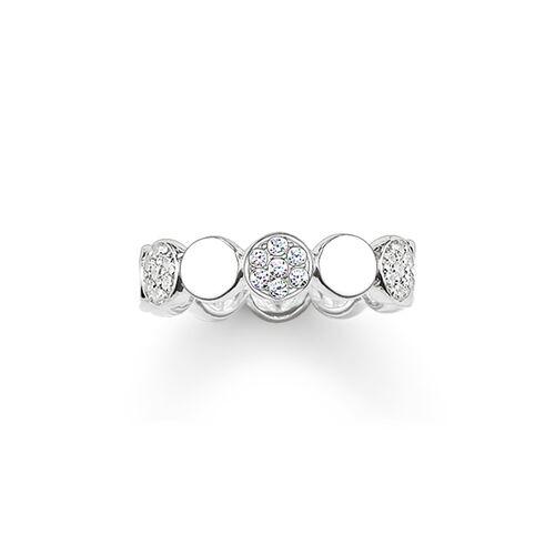"""bague """"Sparkling Circles"""" de la collection Glam & Soul dans la boutique en ligne de THOMAS SABO"""