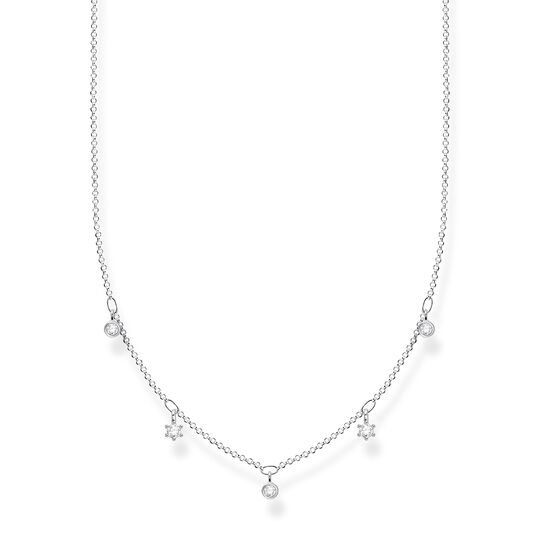 Necklace white stones, silver from the Charming Collection collection in the THOMAS SABO online store
