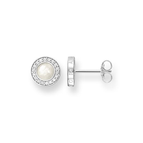 "ear studs ""Classic pavé white"" from the Glam & Soul collection in the THOMAS SABO online store"