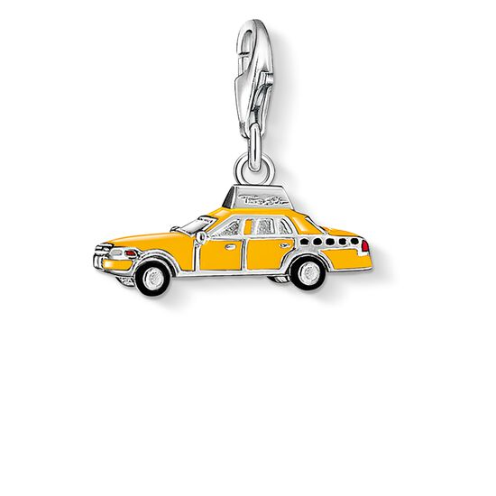 "Charm pendant ""yellow taxi"" from the  collection in the THOMAS SABO online store"