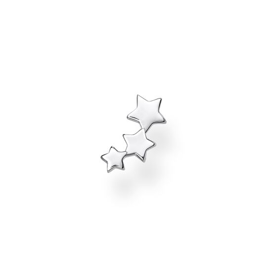 Single ear stud stars silver from the Charming Collection collection in the THOMAS SABO online store