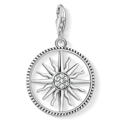 Charm pendant sun large from the Charm Club Collection collection in the THOMAS SABO online store