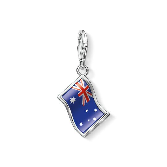 Charm pendant flag Australia from the Charm Club collection in the THOMAS SABO online store