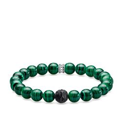 "bracelet ""Black Cat green"" from the Rebel at heart collection in the THOMAS SABO online store"