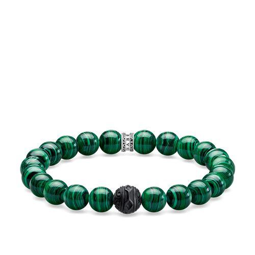 """pulsera """"Black Cat verde"""" de la colección Rebel at heart en la tienda online de THOMAS SABO"""