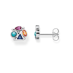 "ear studs ""Colourful Stones"" from the Glam & Soul collection in the THOMAS SABO online store"