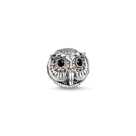Bead owl from the Karma Beads collection in the THOMAS SABO online store