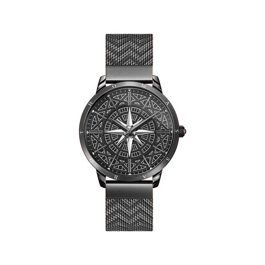 Men's watch Spirit Cosmos compass black from the  collection in the THOMAS SABO online store