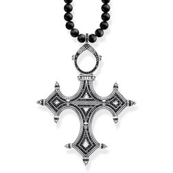"""necklace """"Ethnic cross"""" from the Rebel at heart collection in the THOMAS SABO online store"""