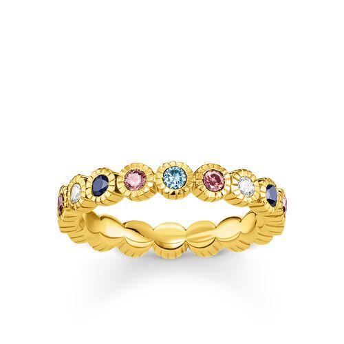"""anillo """"Royalty dorado"""" de la colección Glam & Soul en la tienda online de THOMAS SABO"""