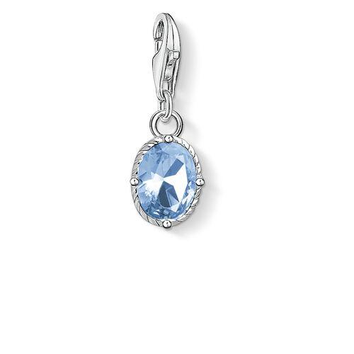 """Charm-Anhänger """"blauer Stein"""" aus der  Kollektion im Online Shop von THOMAS SABO"""