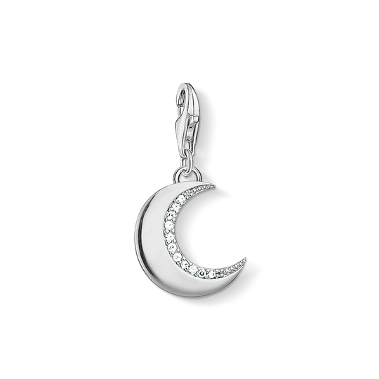Charm pendant moon silver from the Charm Club collection in the THOMAS SABO online store