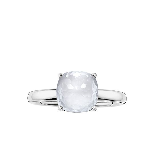 "solitaire ring ""white"" from the Glam & Soul collection in the THOMAS SABO online store"