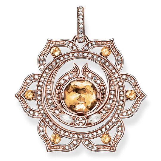 "pendant ""splenic chakra"" from the Chakras collection in the THOMAS SABO online store"