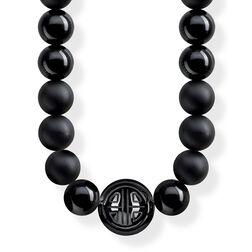 """cadena """"Power Necklace negro"""" de la colección Glam & Soul en la tienda online de THOMAS SABO"""