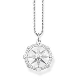"""necklace """"compass"""" from the Glam & Soul collection in the THOMAS SABO online store"""