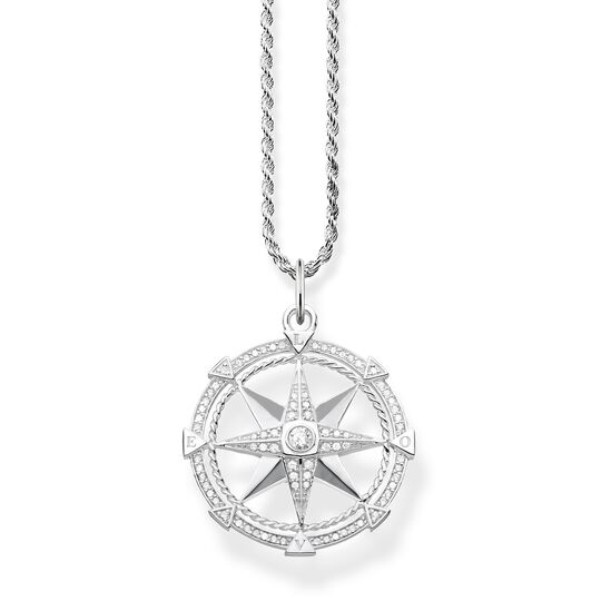 "necklace ""compass"" from the Glam & Soul collection in the THOMAS SABO online store"