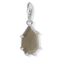 Charm pendant Brown stone from the Charm Club Collection collection in the THOMAS SABO online store