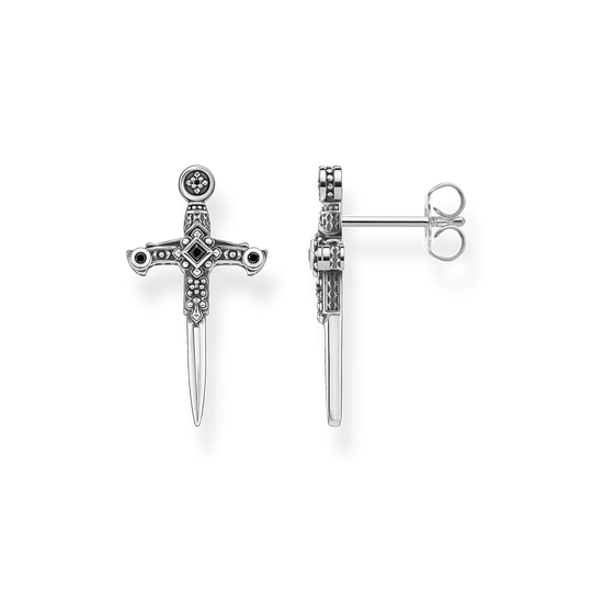 Ear studs swords from the Rebel at heart collection in the THOMAS SABO online store