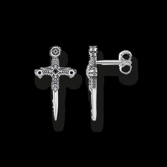 Clous d'oreilles épées de la collection Rebel at heart dans la boutique en ligne de THOMAS SABO